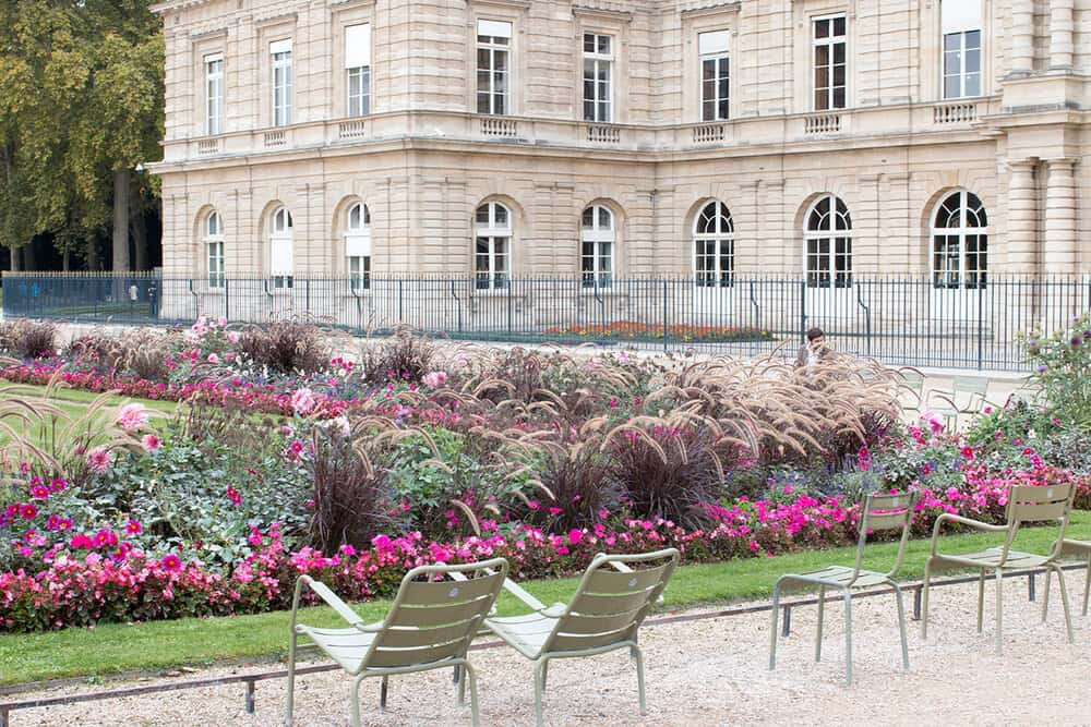 Shop Paris Luxembourg Gardens Fall Print Here