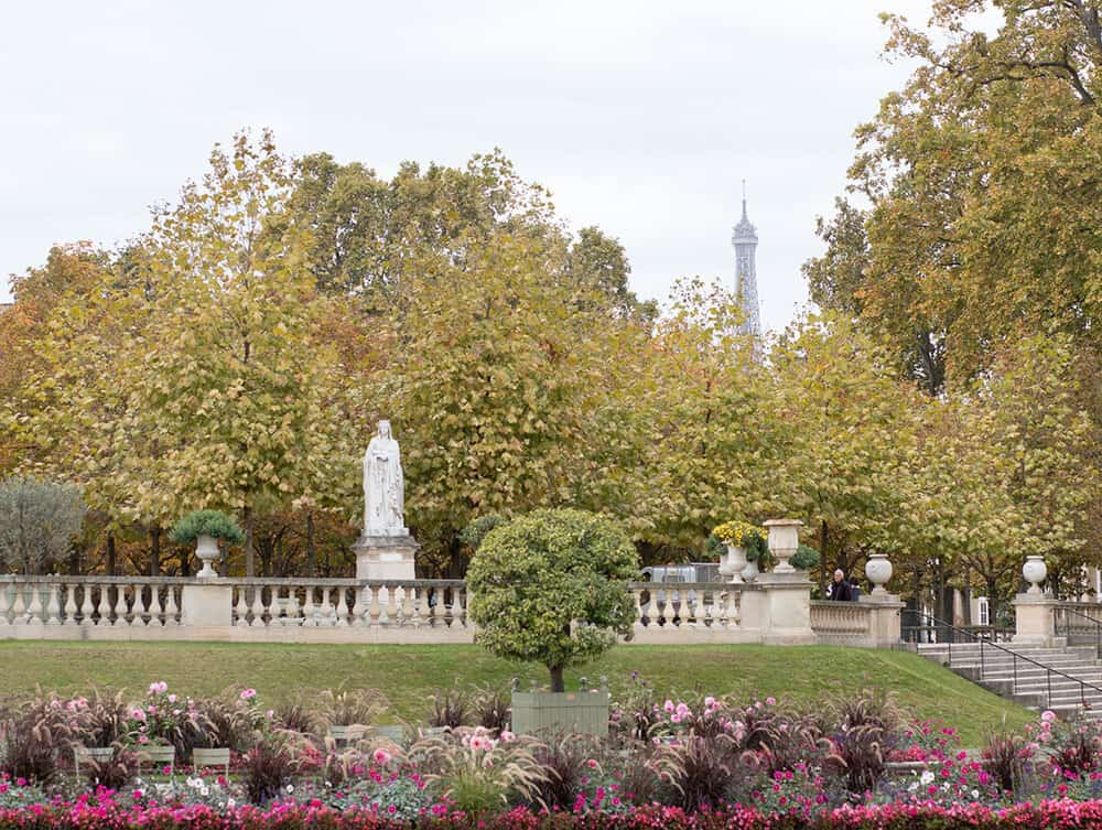 Shop Paris Luxembourg Gardens in the Fall Print Here