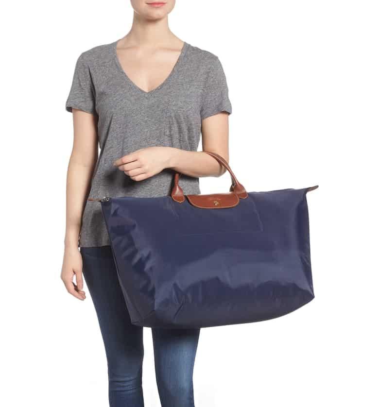 - Longchamp Weekender $145