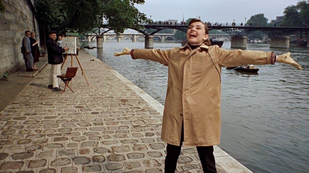 audrey hepburn in paris in five films we adore everyday parisian