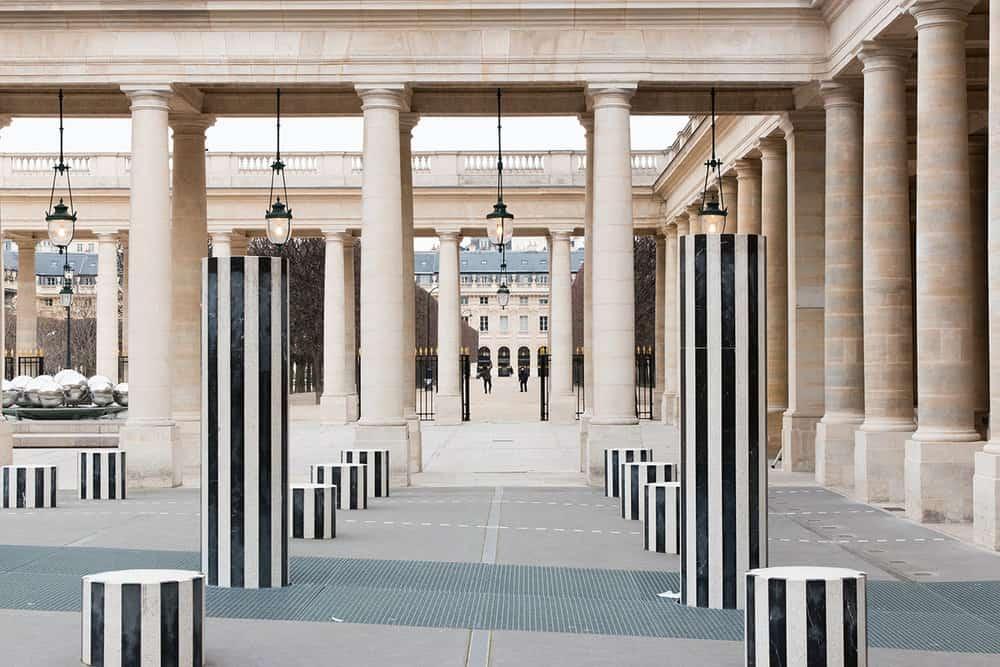 Buy Walk Through Palais Royal Print Here