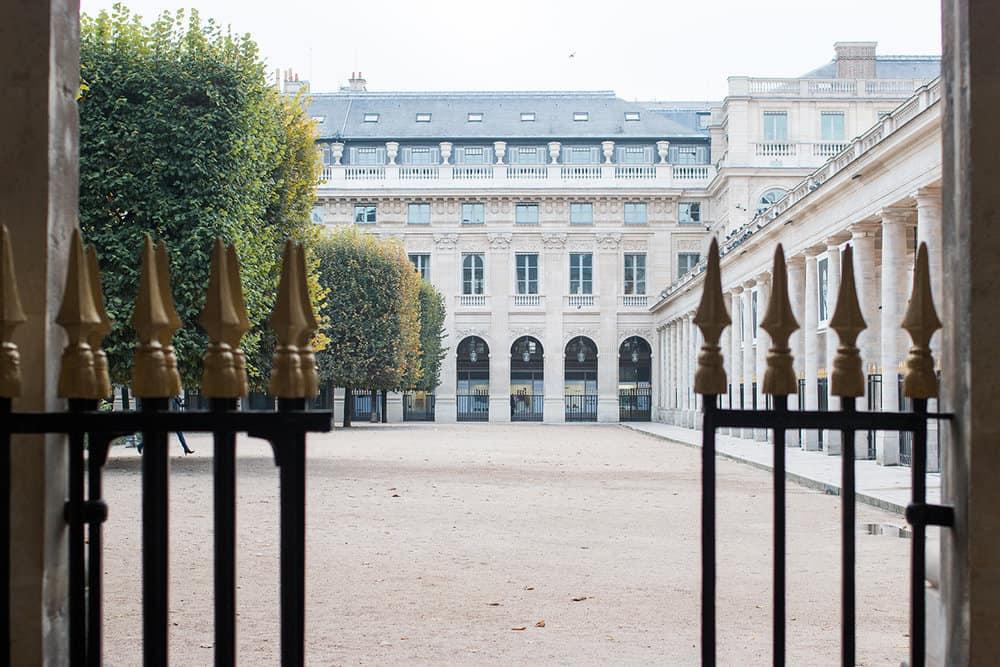 Buy Palais Royal in The Fall Print Here