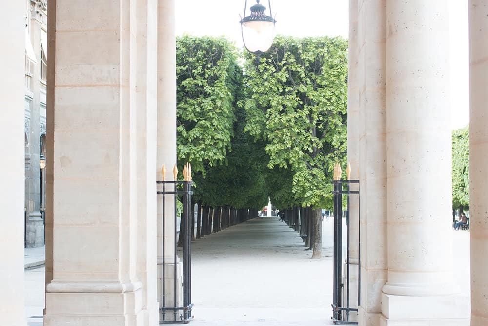 Shop Fall Walk through Palais Royal Print Here