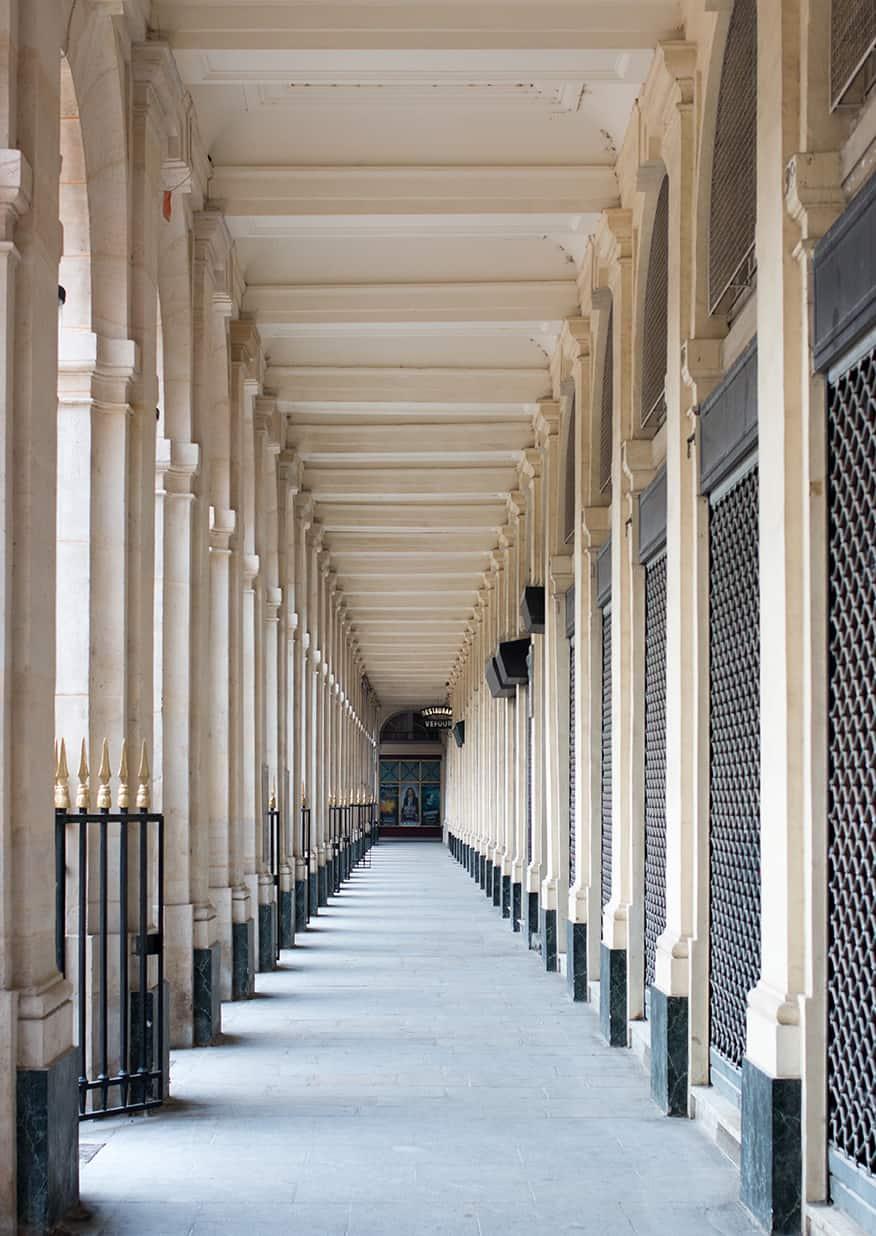 Shop Arcade of Palais Royal Print Here