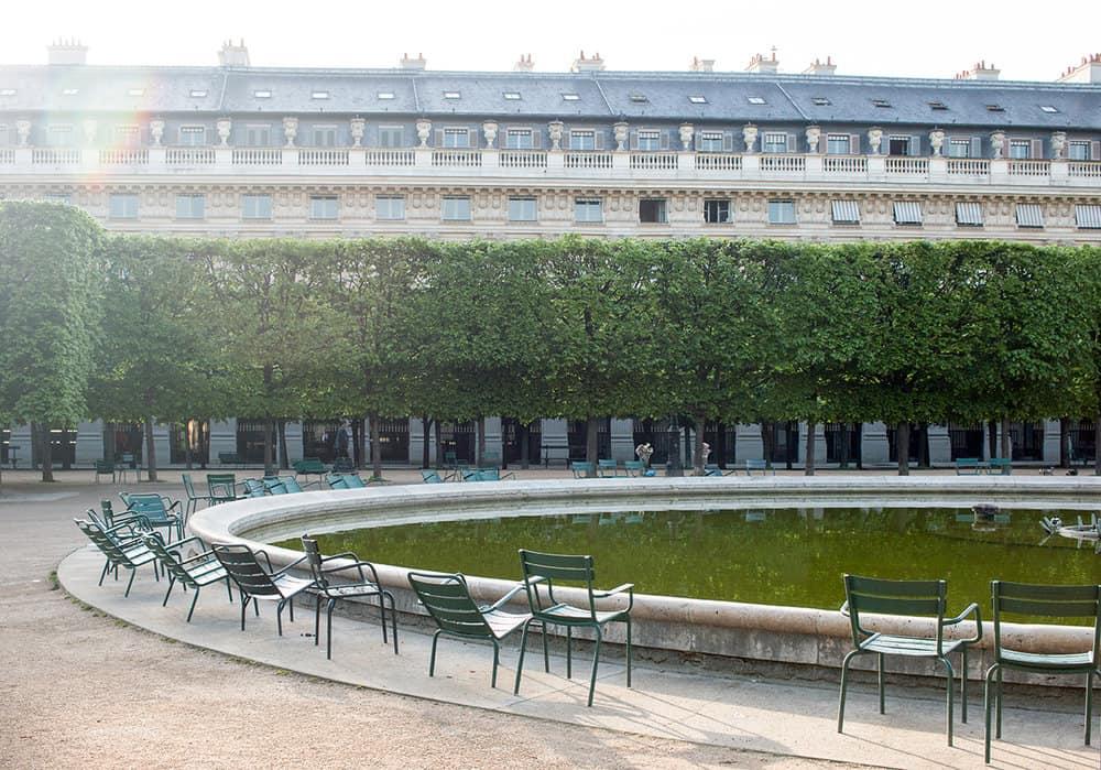 Shop Spring Morning in Palais Royal Print Here