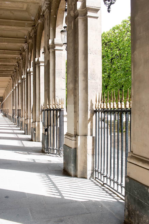 Shop Spring Morning Light in Palais Royal Print Here