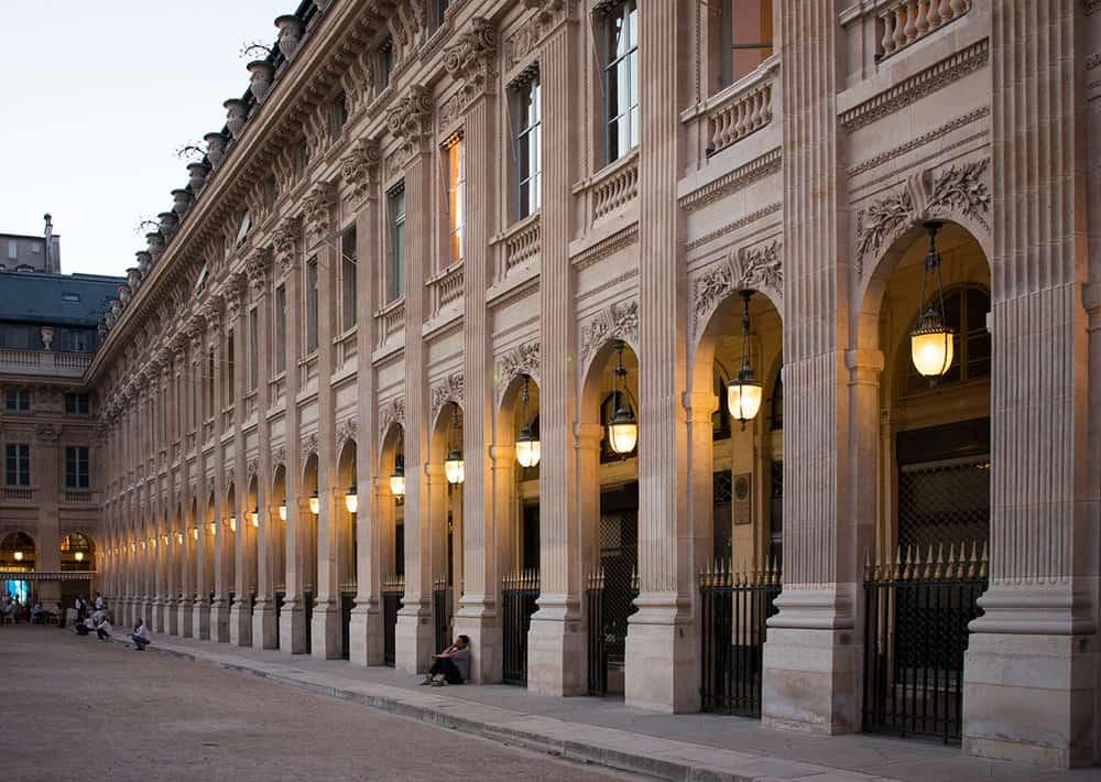 Shop Last Light in Palais Royal Print Here