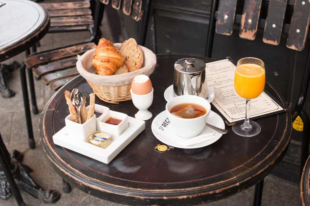 Shop Paris Breakfast on Ile St Louis Print Here
