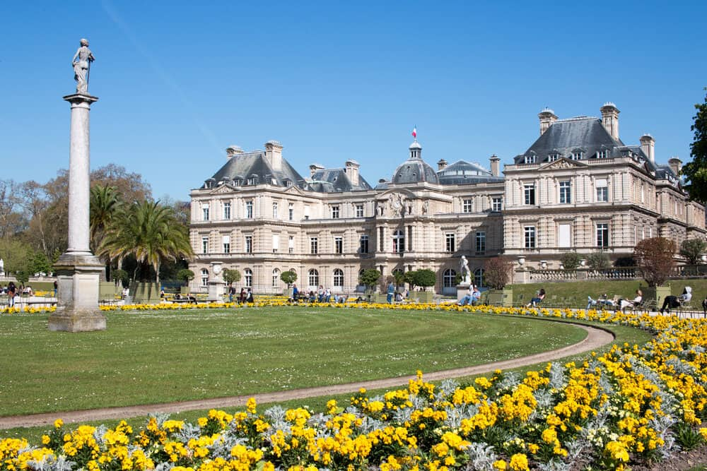 Shop Luxembourg Gardens Spring Print Here