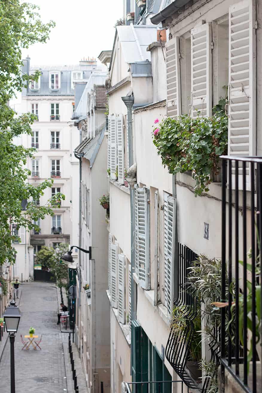 Shop Paris Montmartre Spring View Print Here
