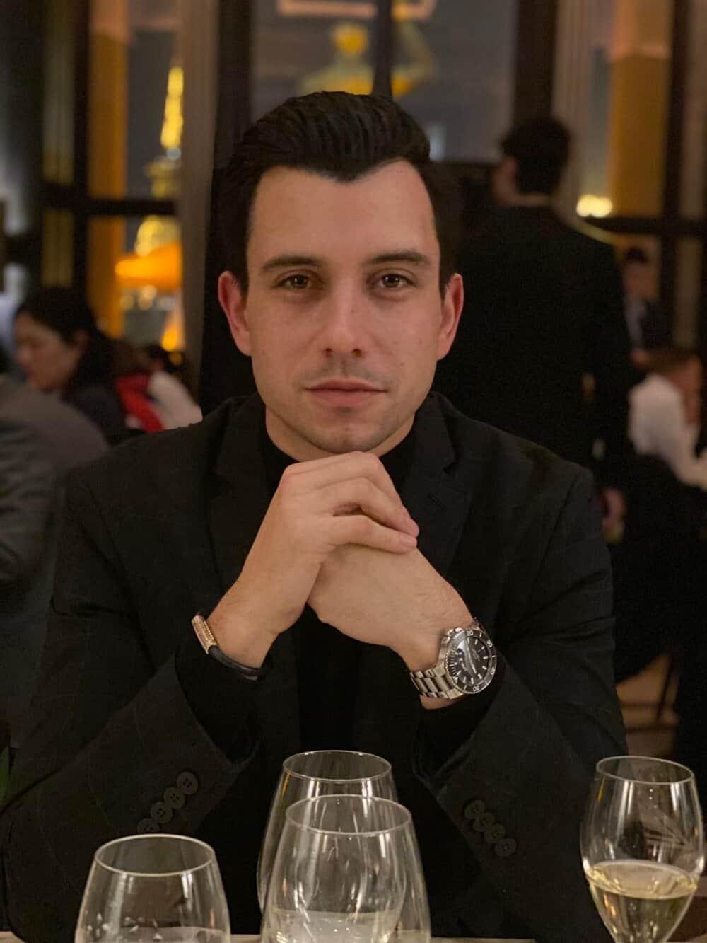 Hotel Grand Powers Concierge Thibault Loupias