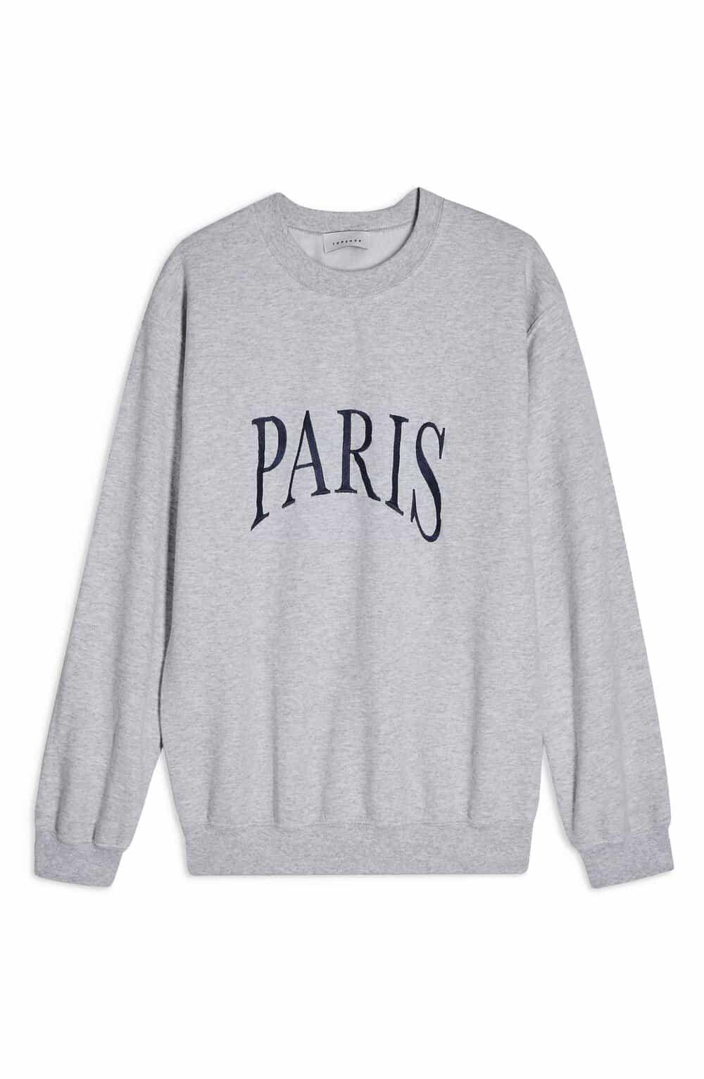paris sweatshirt 25 Francophile Gifts Under $50