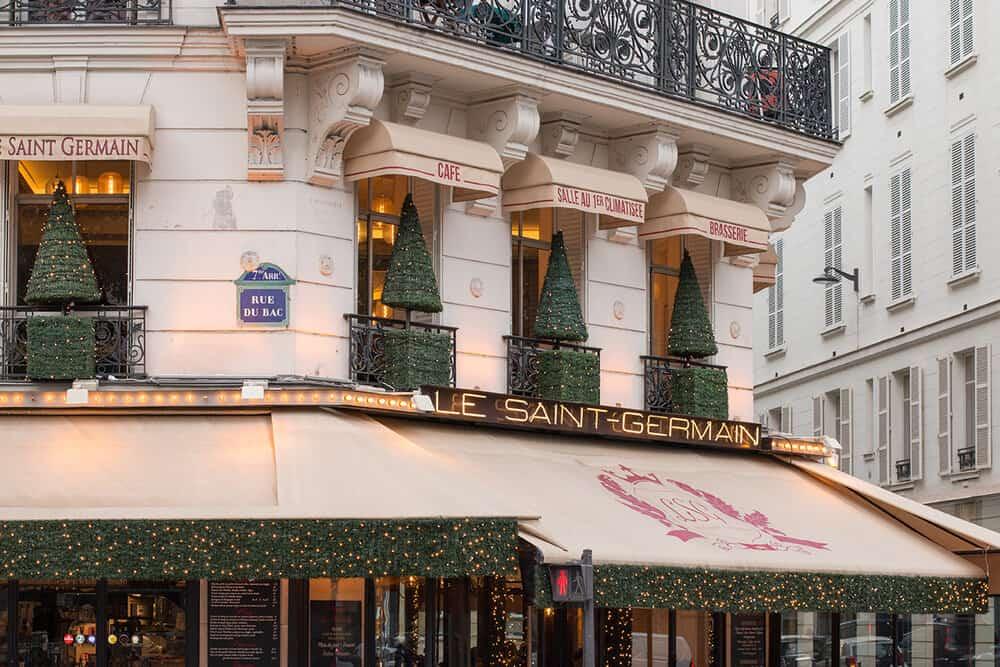 Shop Le Saint Germain Paris Print Here