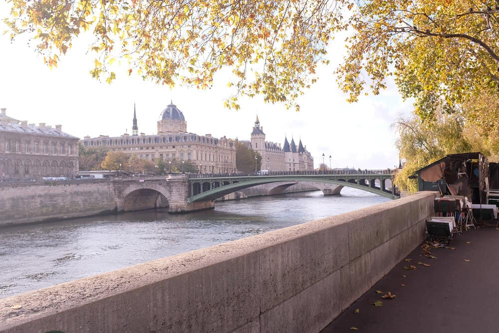 Shop Fall Light on the Seine Print Here