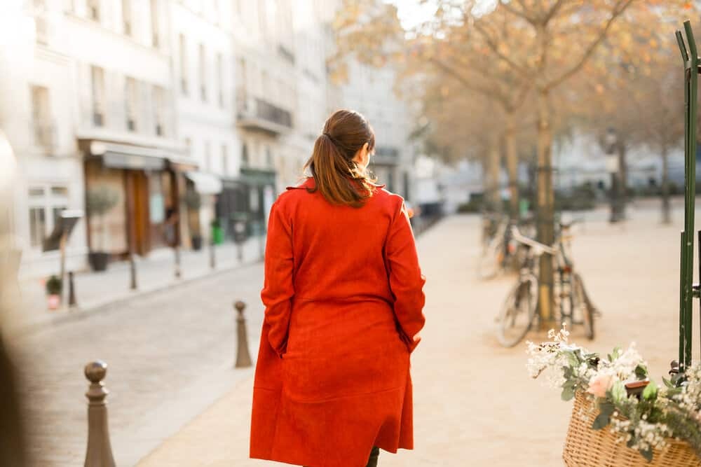 red coat paris france image by katie donnelly of rebecca plotnick everyday parisian