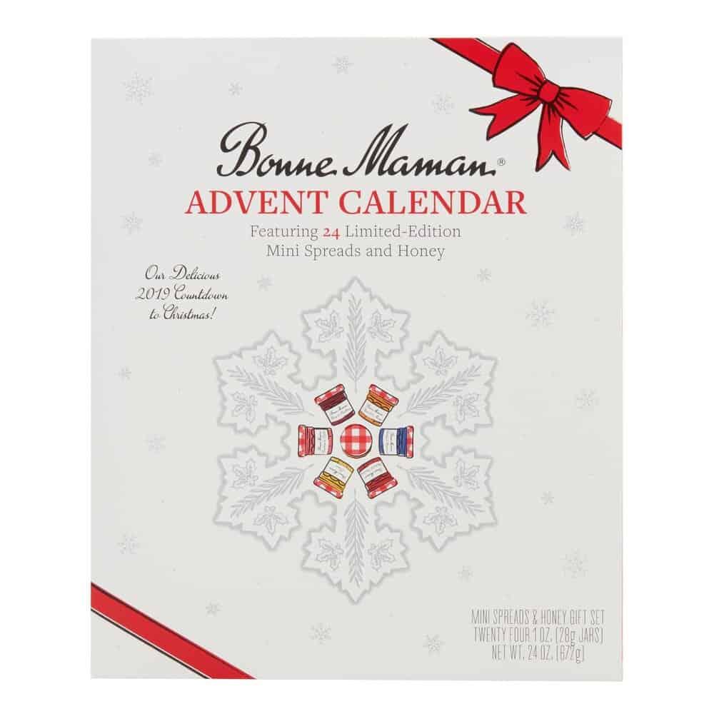 advent holiday advent calendar bonne maman