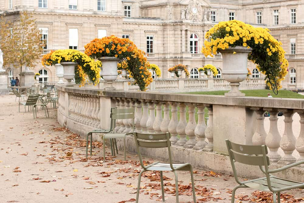Shop Luxembourg Gardens in the Fall Photo Here