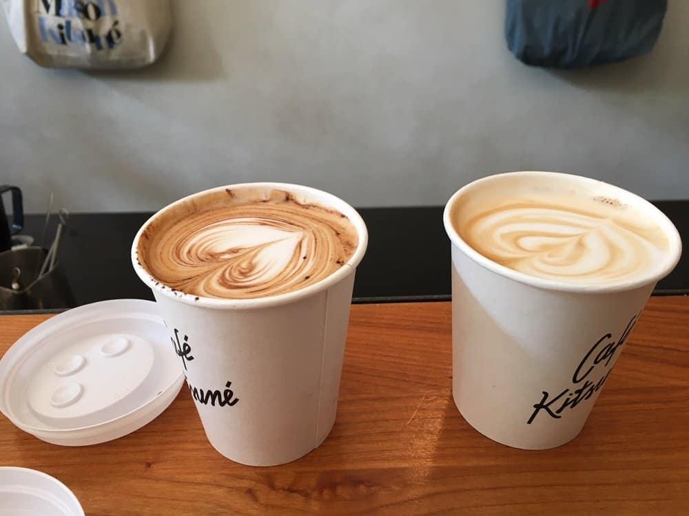café kitsuné where to drink coffee in Paris