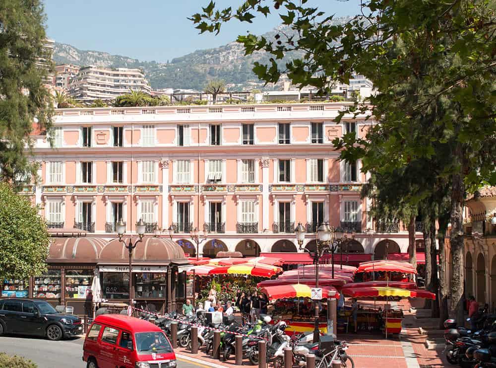 monaco market summer in france everyday parisian