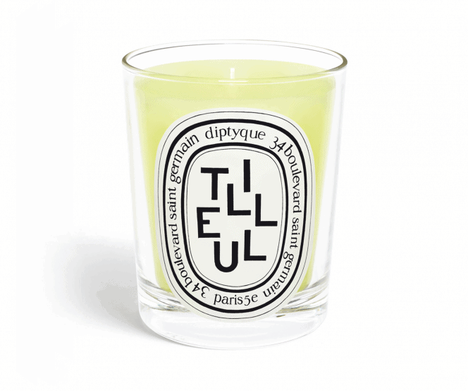 linden tree diptyque candle