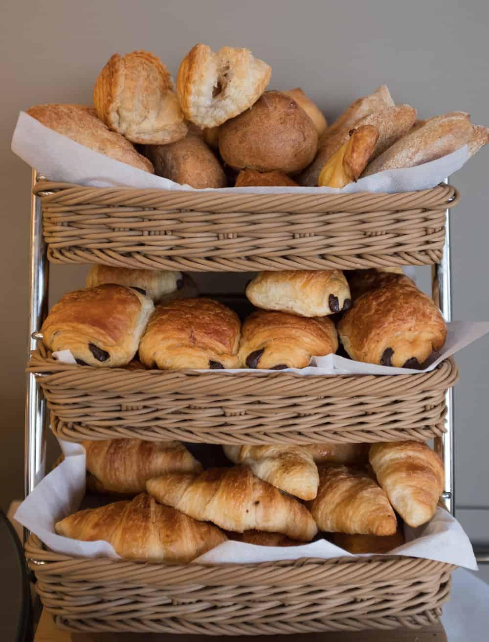 pavillon des lettres paris france breakfast