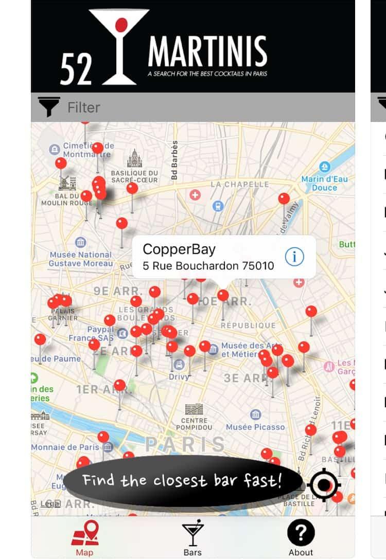 paris cocktails 15 apps to navigate paris