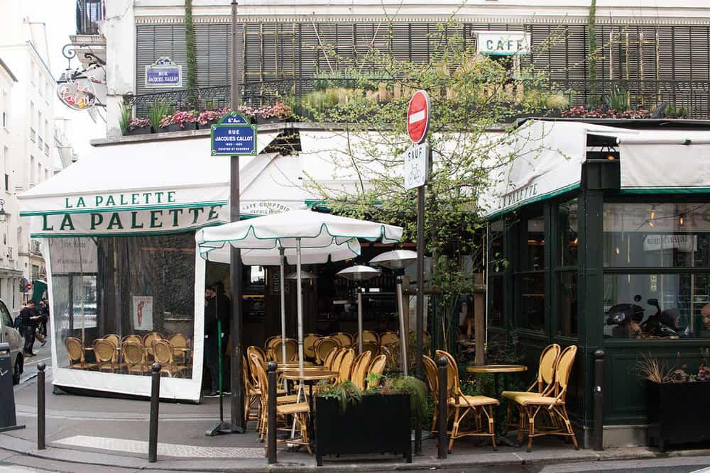 Shop La Palette Left Bank Paris Café Here