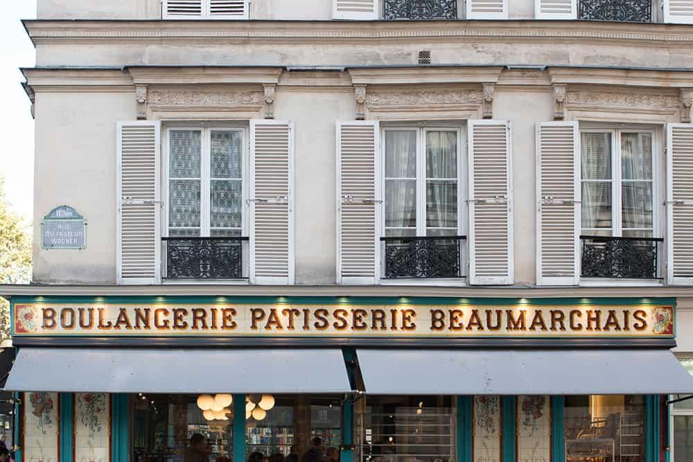 boulangerie 28 beaumarchais paris france