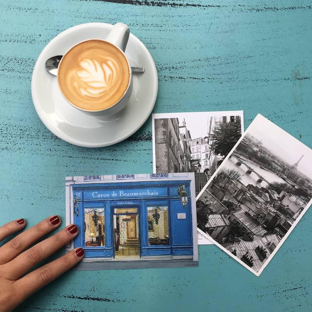 paris postcards everyday parisian