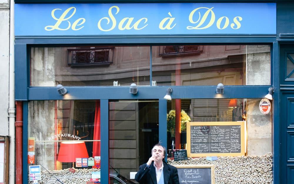 everyday parisian paris bistro