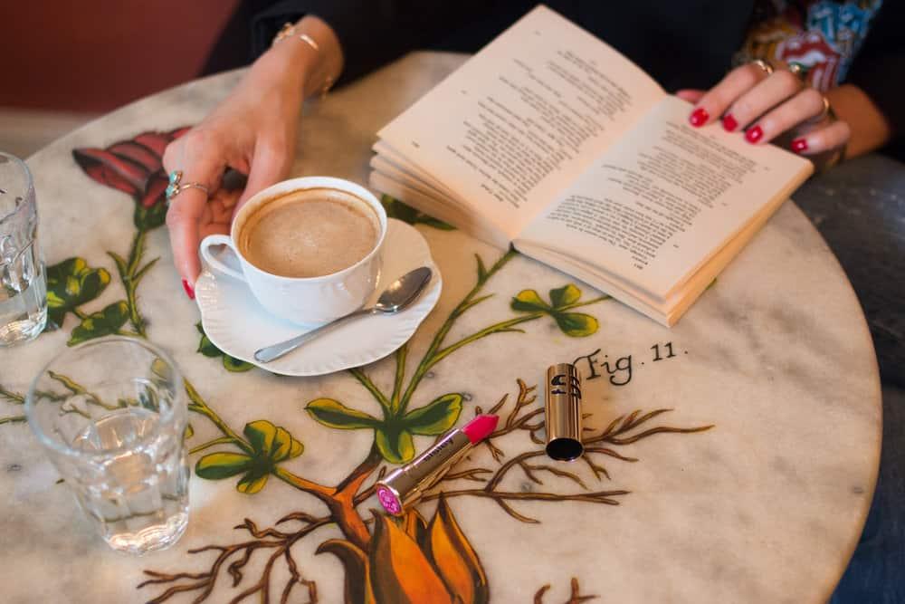 everyday parisian book in paris, france