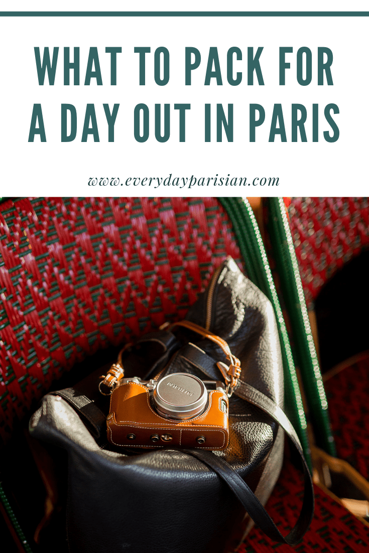 what i pack for a day out in paris everyday parisian