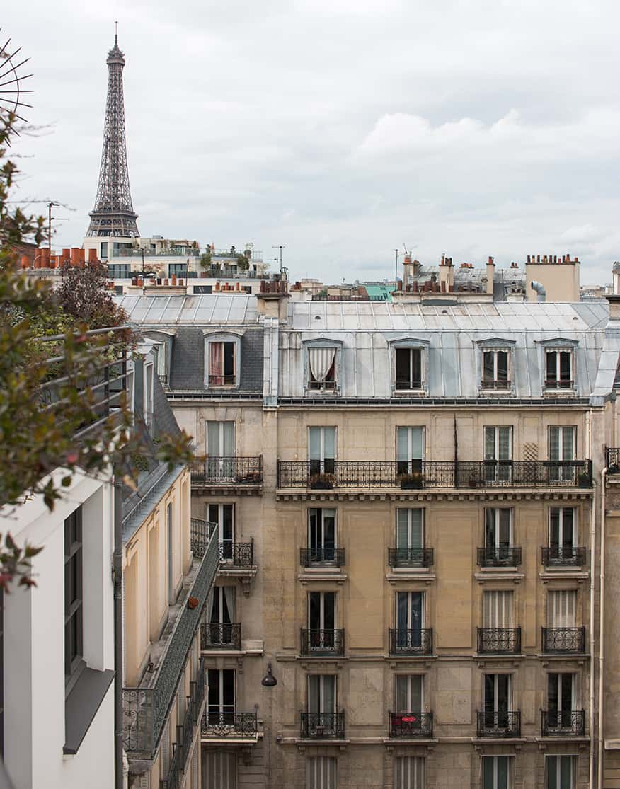 25 Hotels with Eiffel Tower Views Le Cinq Codet Everyday Parisian