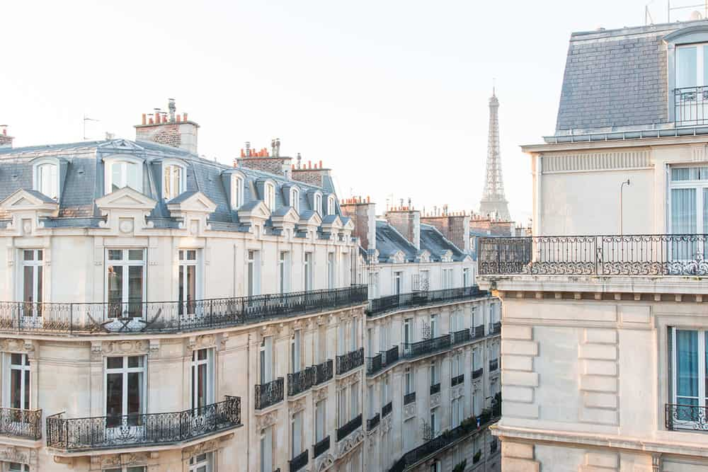 25 Hotels with Eiffel Tower Views Grand Powers