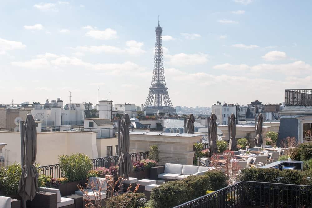 25 Hotels with Eiffel Tower Views Peninsula Paris