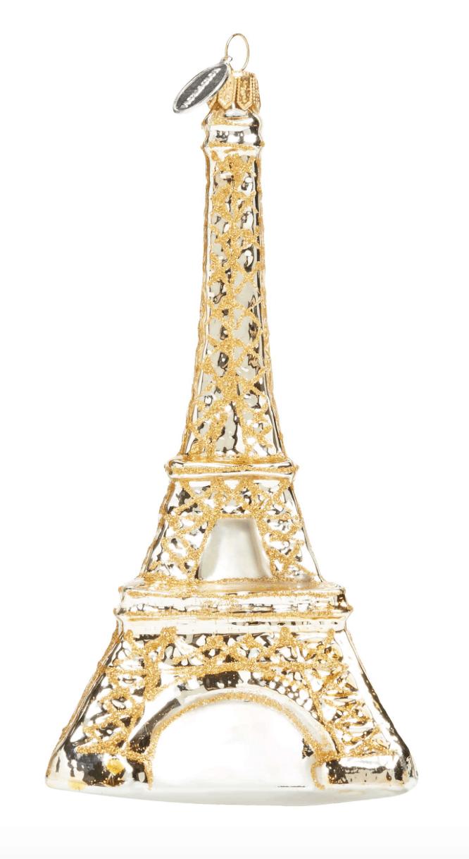eiffel tower gold ornament everyday parisian