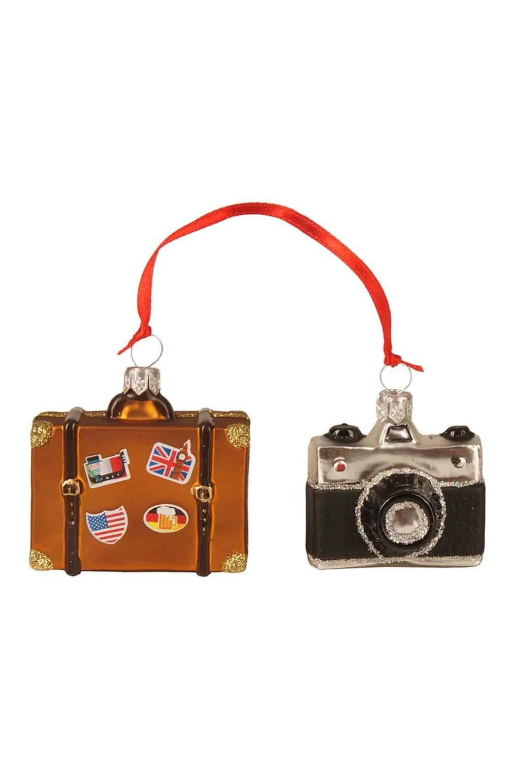 travel mini ornament