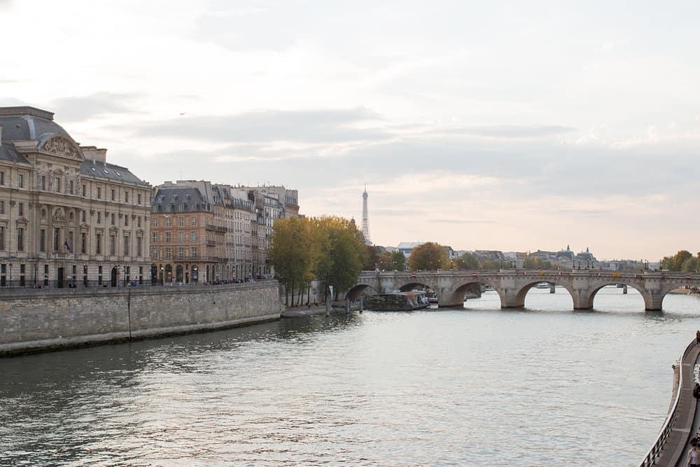 across the seine everyday parisian
