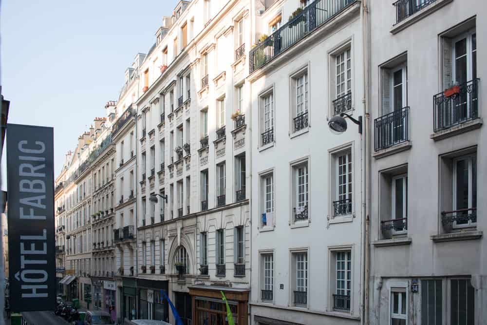 where to stay in paris hotel fabric