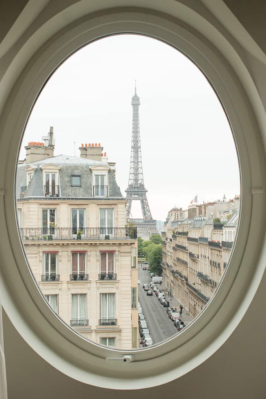 eiffel tower room with a view