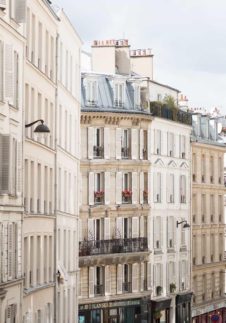 montmartre paris apartment view rebecca plotnick