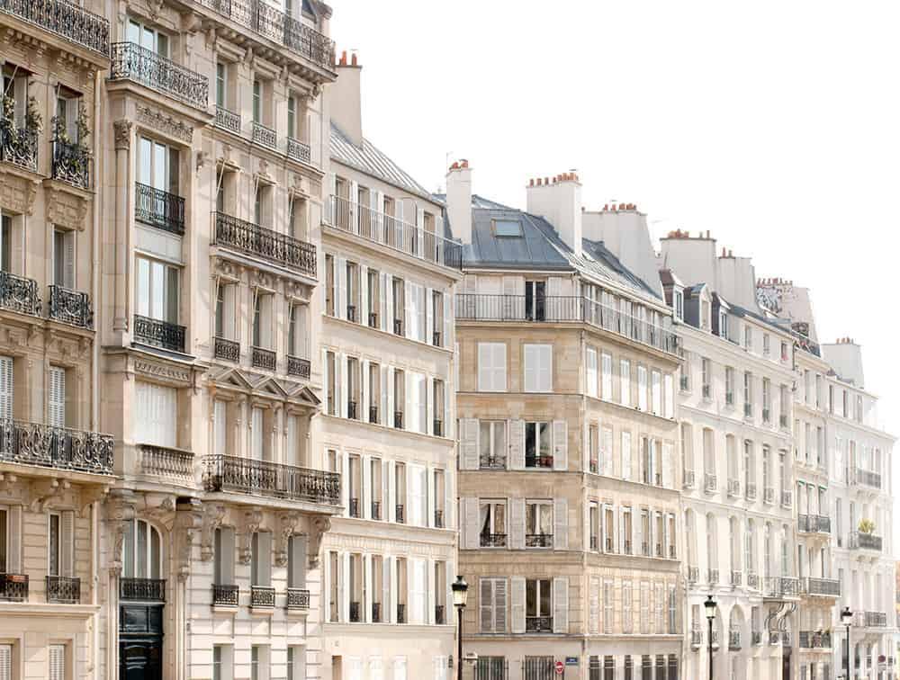 Left Bank Light in Paris