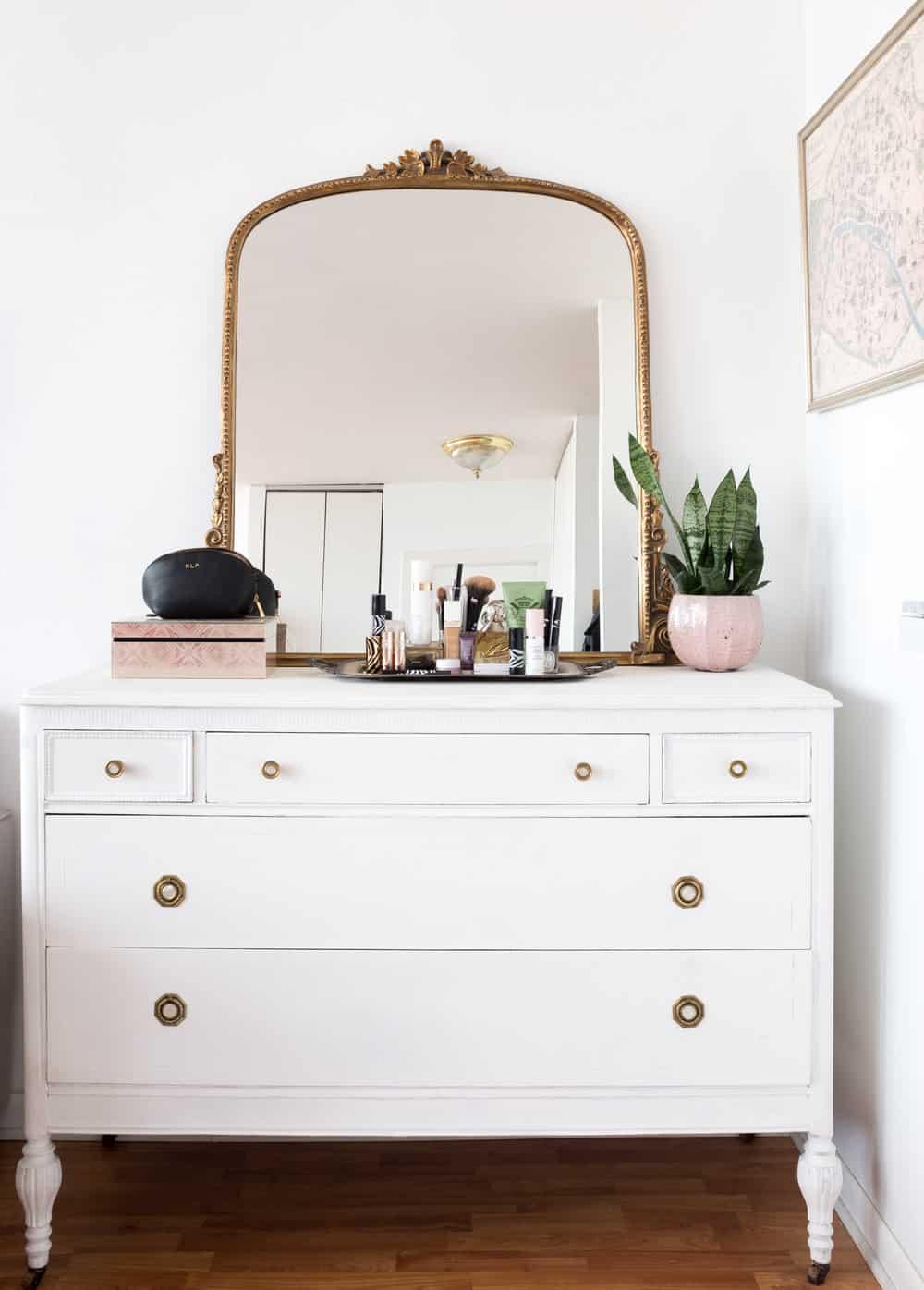anthropologie mirror everyday parisian apartment