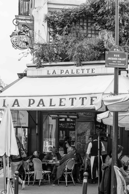BUY Parisian Café Scene
