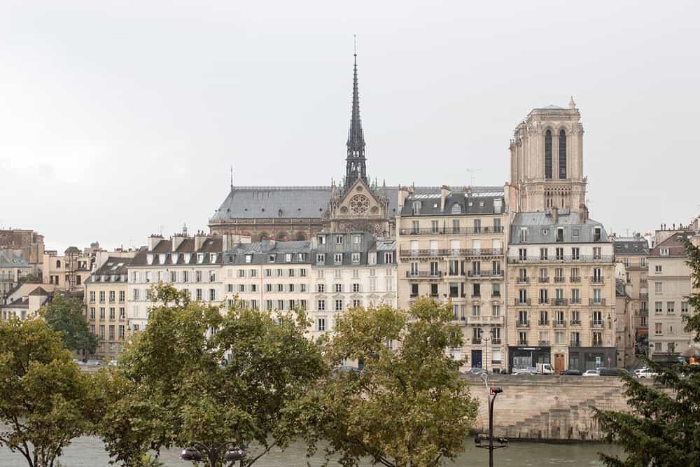 Shop Notre Dame Landscape Photo Here