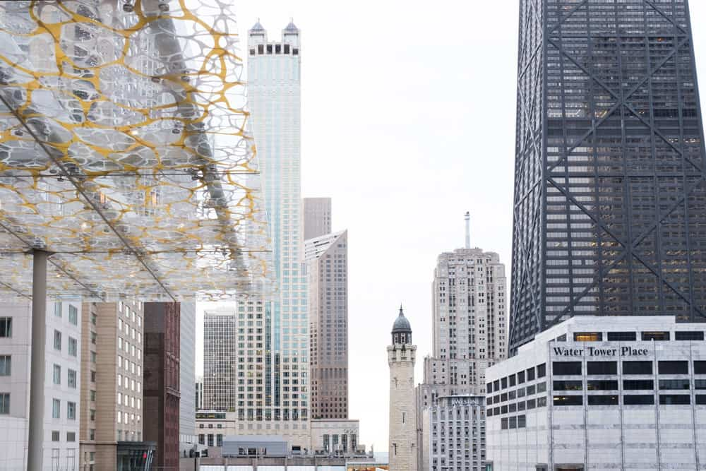 chicago view from Z Bar by Rebecca Plotnick