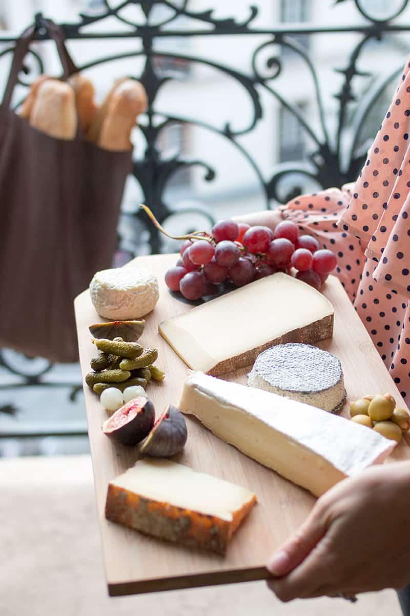 paris france cheese plate everyday parisian
