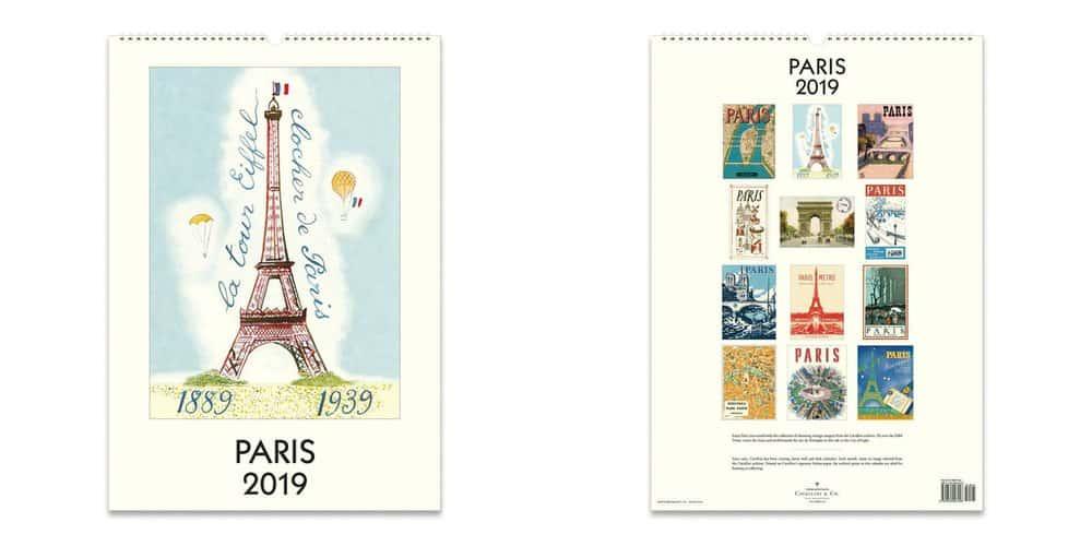 paris calendar cavillini available at paper source