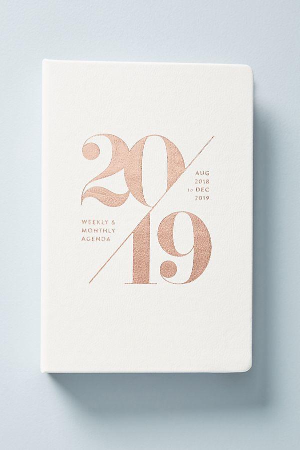 2019 paper planner anthropologie