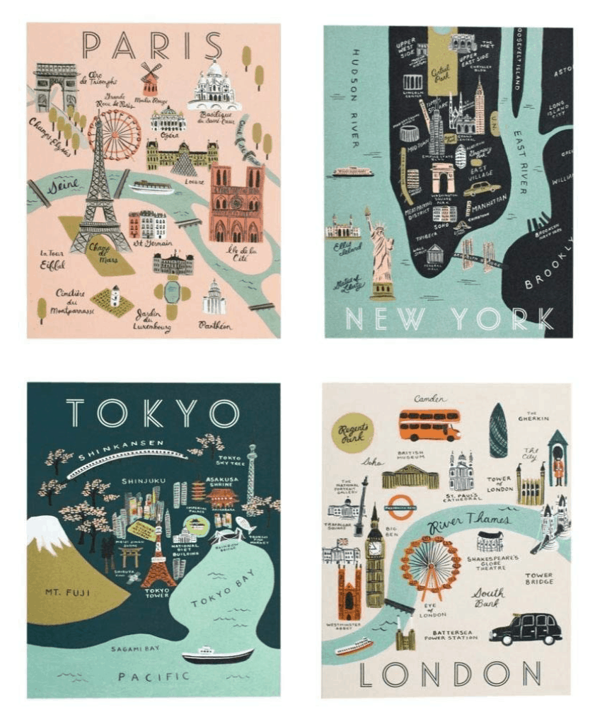 travel rifle paper co